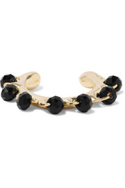 Rosantica Angola gold-tone beaded ear cuff