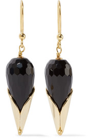 Rosantica Calle gold-tone beaded earrings