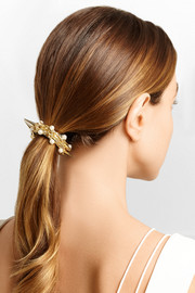 Contrasti gold-tone faux pearl hairclip