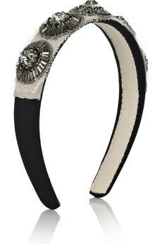 3.1 Phillip Lim Bead-embellished hairband