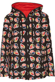 Fendi Reversible printed shell jacket