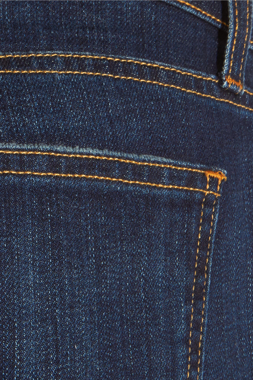 Current/Elliott The Fling distressed low-rise boyfriend jeans