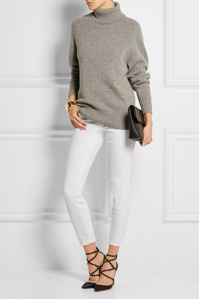 Current/Elliott The Stiletto tiefsitzende Skinny Jeans