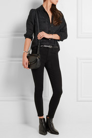 The High Waist Stiletto skinny jeans