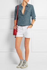 Current/Elliott The Boyfriend stretch-denim shorts