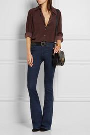 The Bodycon Marrakesh mid-rise flared jeans