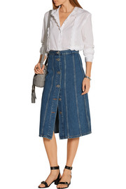 Simone denim skirt
