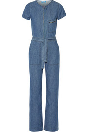 Saint cotton-chambray jumpsuit