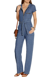 MiH Jeans Saint cotton-chambray jumpsuit