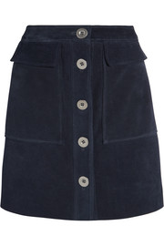 Damas suede mini skirt