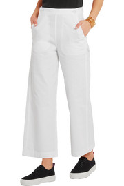 MiH Jeans Cropped mid-rise flared jeans
