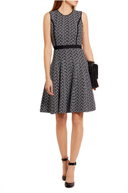 Oscar de la Renta Jacquard-knit dress