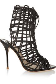 Delphine leather sandals