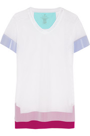 Stretch-mesh T-shirt