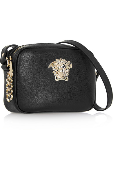 7782c894aaa1 Versace. Palazzo leather camera bag