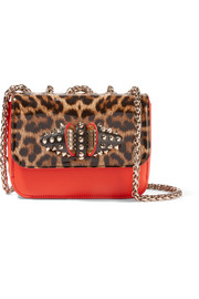 Christian Louboutin Sweet Charity large leather shoulder bag