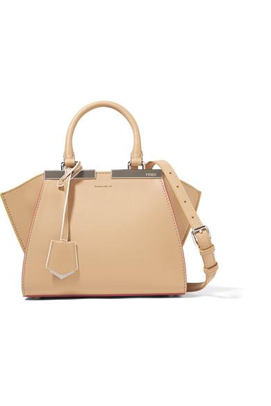 a5bc19a08e8 Fendi | 3Jours mini leather shoulder bag | NET-A-PORTER.COM