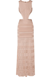 Alondra cutout bandage gown