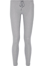 Cozy Rib stretch modal-blend pants