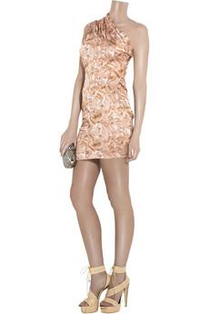 Aminaka WilmontSilk draped mini dress