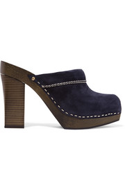 See by Chloé Angie suede clogs