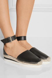 See by Chloé Glyn leather espadrilles