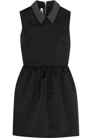 McQ Alexander McQueen Studded satin mini dress