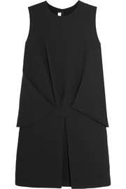 McQ Alexander McQueen Layered crepe mini dress