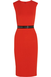 McQ Alexander McQueen Zip-detailed stretch-jersey dress