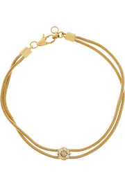 Revival 18-karat gold diamond bracelet