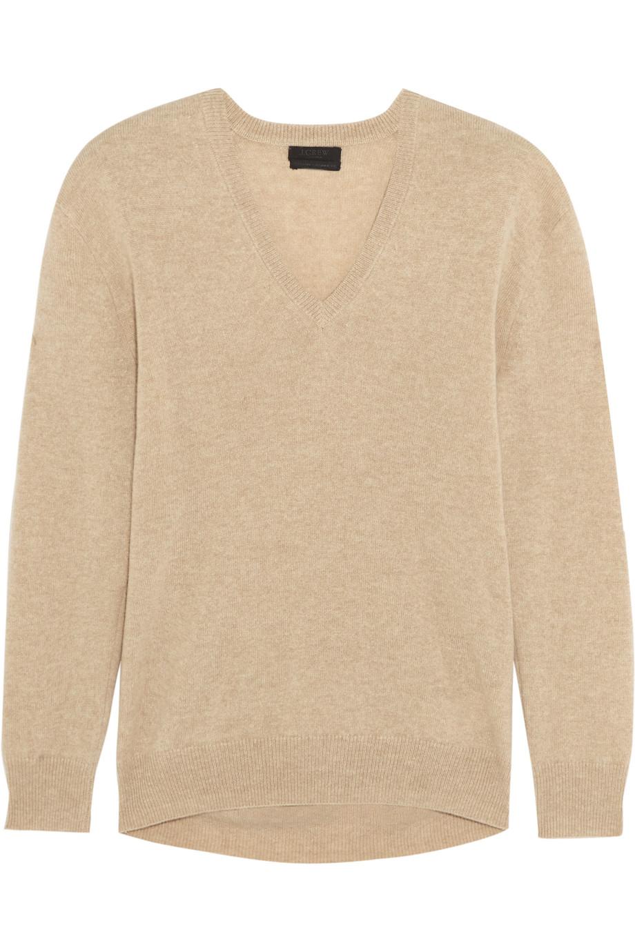 J.Crew Cashmere Sweater, Beige, Women's, Size: M
