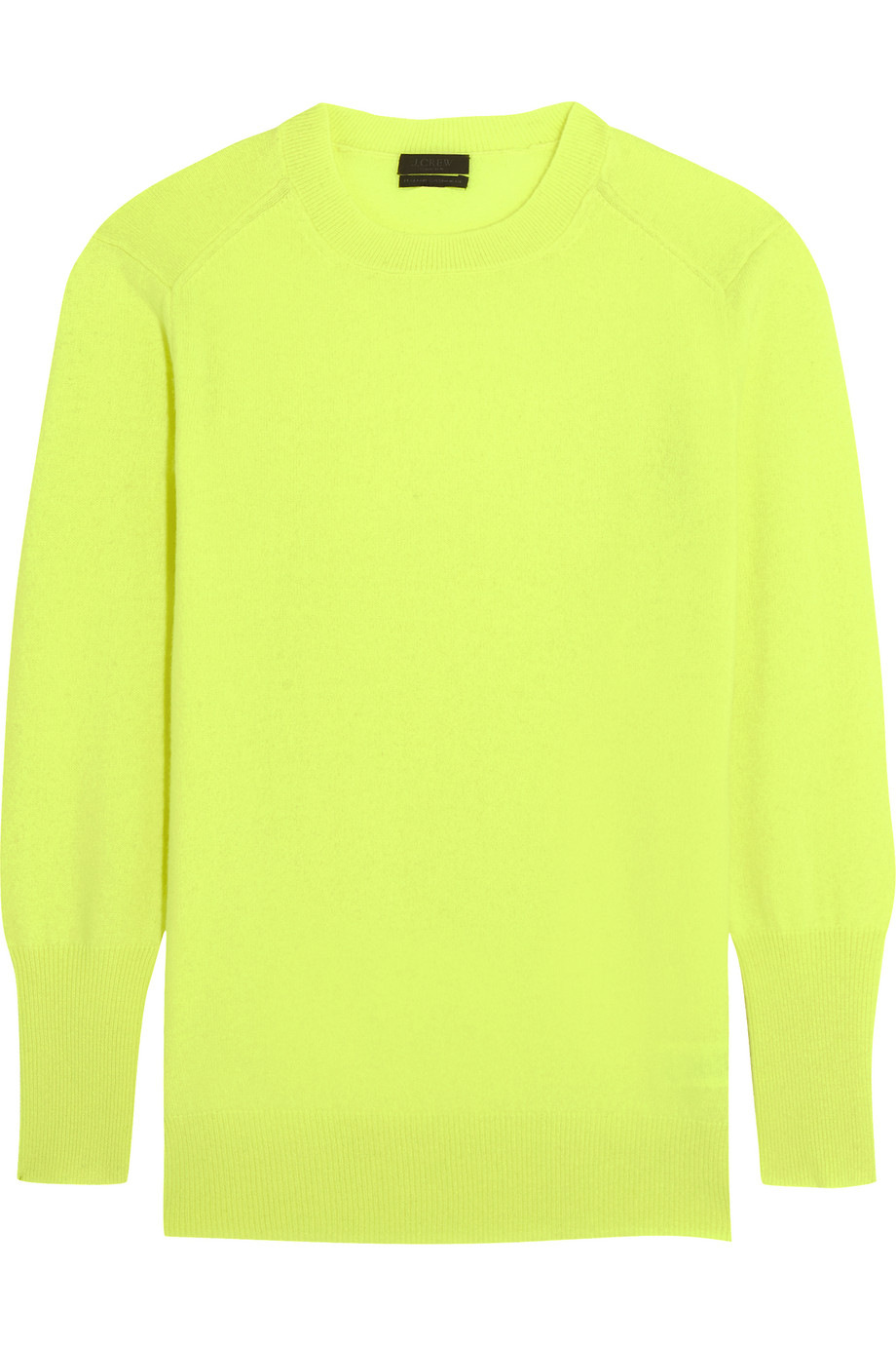 J.Crew Cashmere Sweater, Bright Yellow, Women's