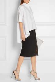 Lanvin Oversized cotton-poplin shirt
