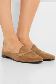 Jacno suede slippers