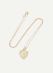 Jennifer Meyer Heart Locket 18-karat gold diamond necklace