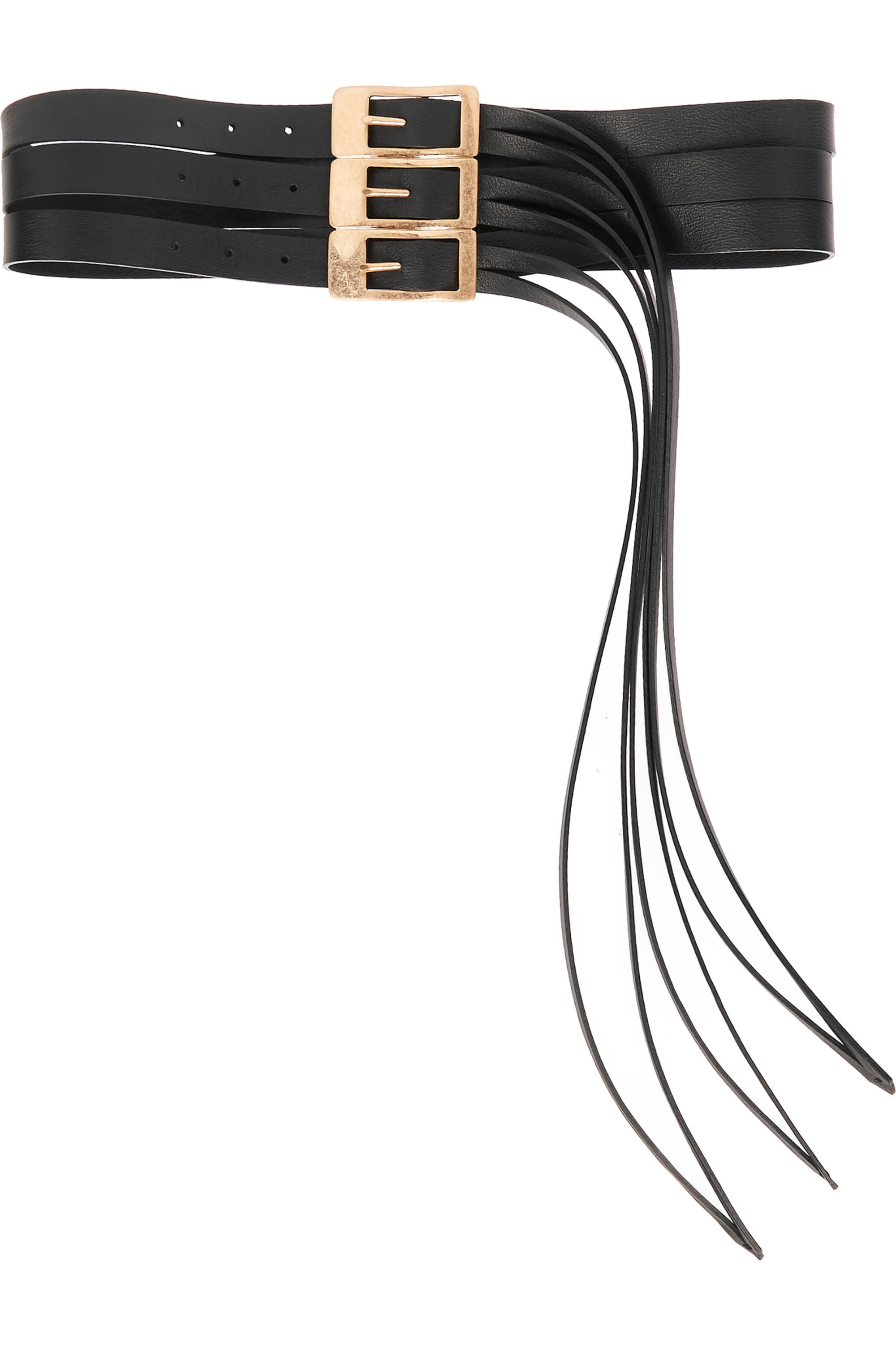 Maison Margiela Fringed leather belt