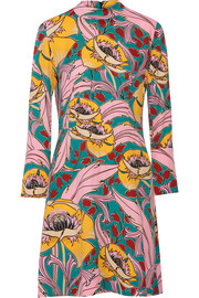 Marni Printed crepe dress