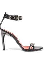 Proenza Schouler Eyelet-embellished leather sandals