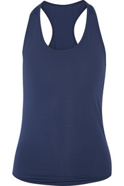 Sophia perforated jersey tank