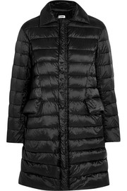 Padded shell down coat