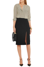 Matisse stretch-crepe skirt