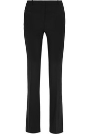 Serge stretch-wool flared pants