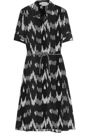 Altuzarra Kieran printed silk crepe de chine dress