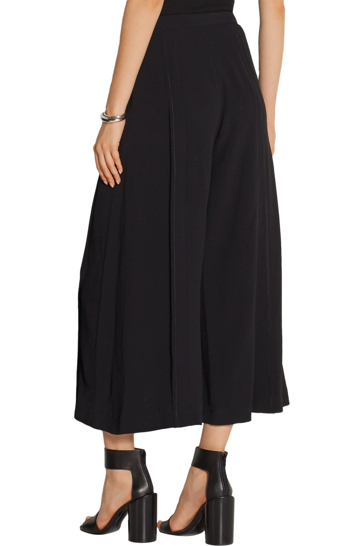 Proenza Schouler Stretch-crepe wide-leg pants