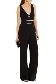 Proenza Schouler Cropped stretch-jersey wrap top
