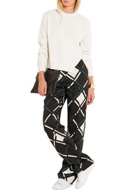 Proenza Schouler Stretch wool, cotton and cashmere-blend sweater