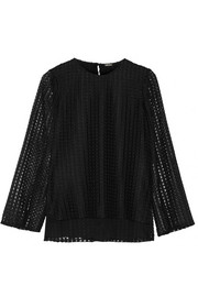 Adam Lippes Macramé lace top