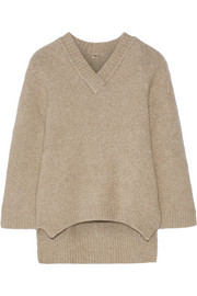 Oversized stretch-cashmere sweater