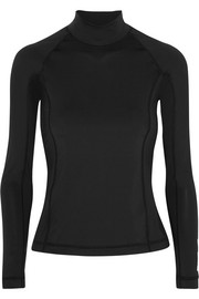 T by Alexander Wang Stretch-jersey rash guard