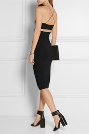 Stretch-modal jersey dress